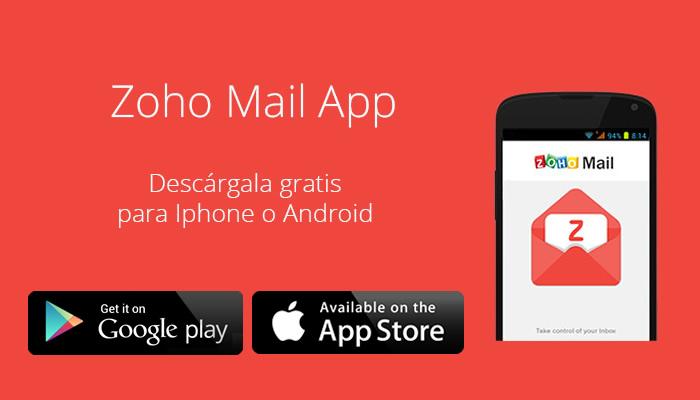 ¿Cómo configurar mi cuenta Zoho Mail en la APP Zoho?