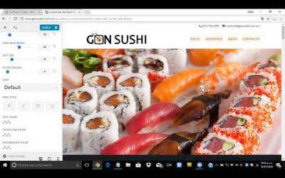¿Cómo cambiar el tipo de fuente en el menú principal y secundario en WordPress?