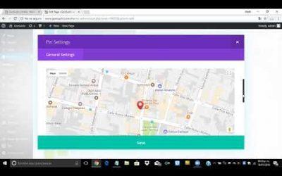 ¿Cómo crear un mapa de ubicación con Divi en WordPress?