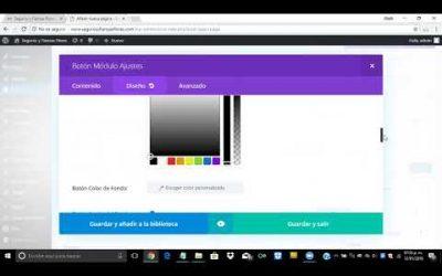 ¿Cómo crear una sección con botón para mandar a contacto en WordPress?